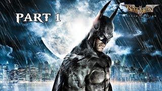 Batman Arkham Asylum Remastered Walkthrough Part 1 - INTRO | PS4 Pro Gameplay