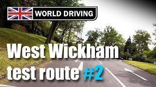 preview picture of video 'West Wickham test route PART 2 (Independent driving following signs to Addington)'