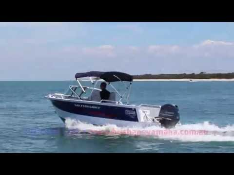 Quintrex Fishabout 481 + Yamaha F70HP boat review | Brisbane Yamaha