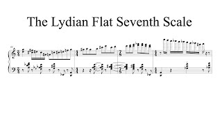 The Lydian Flat Seventh Scale (Andy Wasserman transcription)