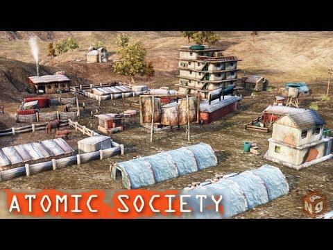 Atomic Society - Градостроительный сим в мире Фолаута!