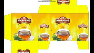 How To Create A  Tea Packaging Design In Corel Draw X7 X6 X8