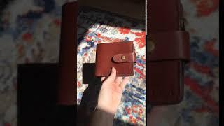 Кожаный кошелек АНТВЕРПЕН