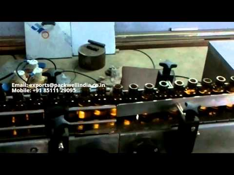Automatic Vial Filling and Sealing Machine