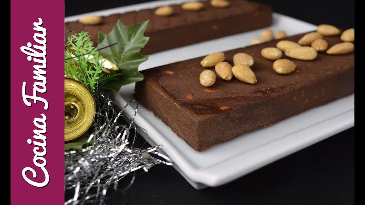 Turrón de chocolate y almendras | Javier Romero