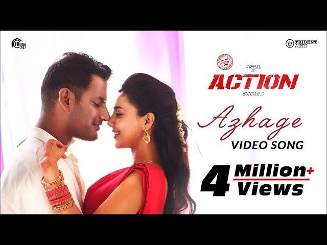 Action | Azhage Video Song | Vishal, Aishwarya Lekshmi | Hiphop Tamizha | Sundar.C