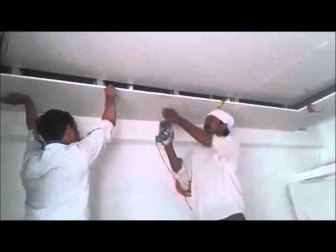 False Ceiling work in Gypsum Board