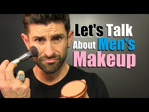 Let's Talk About Men's Makeup | Are You LESS Manly For Wearing Makeup?