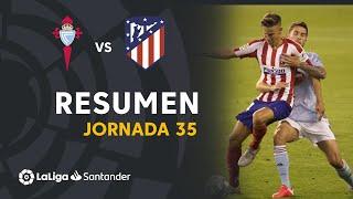 Resumen de RC Celta vs Atlético de Madrid (1-1)