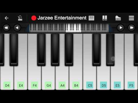 Alan Walker - Faded - Easy Mobile Perfect Piano Tutorial
