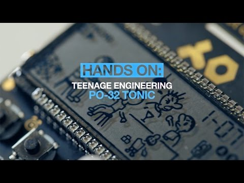 TEENAGE ENGINEERING PO 32 tonic Syntezátor
