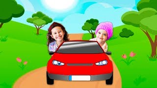 VALENTINA E SUA AMIGA NO CARRO EM REGRAS DE CONDUTA / (Rules of Condut for Children)