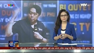 Just discovered that my interview on Vietnam TV VTV 1 was posted