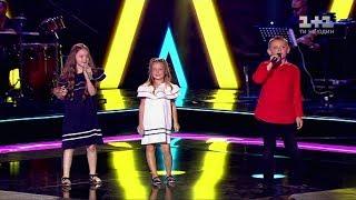 "Мария, Ярослав, Мария  – ""Smile"" – бои – Голос. Діти 4 сезон"
