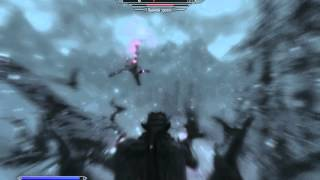 Skyrim mod Вампир лорд funny