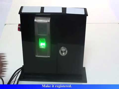 MA300 Fingerprint Access Control Installation Guide