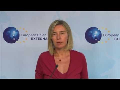 Press point by Federica Mogherini on Turkey