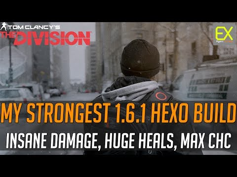 THE STRONGEST Hybrid-HEXO DPS Build + DZ/LS Gameplay | The Division 1.6.1