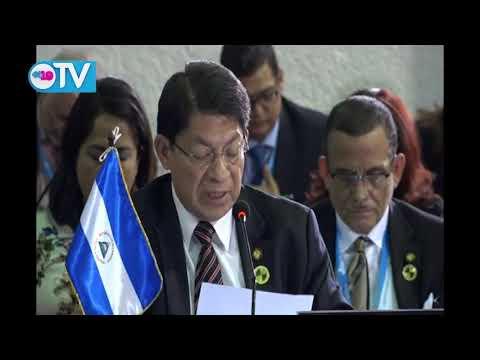 Canciller Denis Moncada en la XXVI Cumbre Iberoamericana