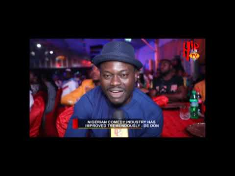 WE NOW DELIVER OUR JOKES LIKE AMERICAN COMEDIANS - DE DON