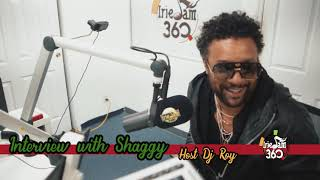 IrieJam 360 Interview W/ Shaggy Host DJ Roy Part 2 of 3