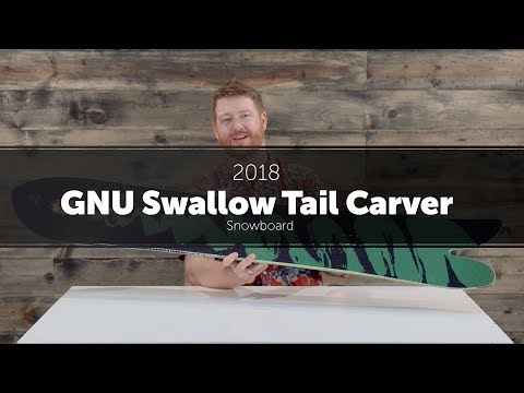 2018 GNU Swallow Tail Carver Snowboard – Review