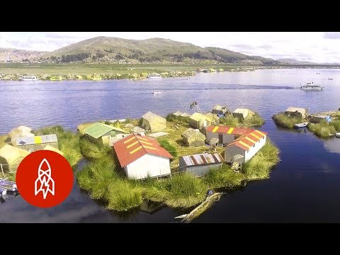 Visiting Lake Titicaca's Man Made Floating Islands