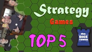 Top 5 Strategy Games - with HAMTAG