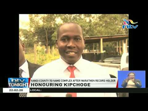 Nandi County to name complex after Eliud Kipchoge