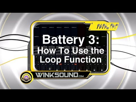 Native Instruments Battery 3: How To Use the Loop Function | WinkSound