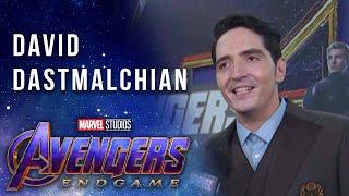 David Dastmalchian LIVE from the Avengers: Endgame Red Carpet Premiere