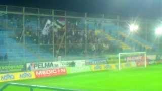 preview picture of video 'asteras tripolis - PARTIZAN (Partizan fans) 2'