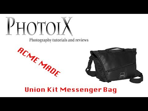 Acme Made Union kit messenger photo bag review and quick look