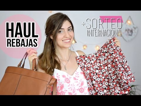 Haul rebajas + tips | SORTEO internacional