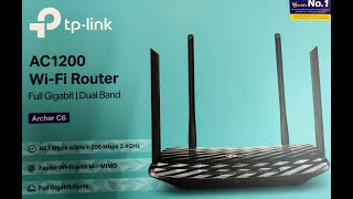 TP-Link Archer C6 AC1200 Wireless Gigabit Router||Detailed Review||Configuration||SpeedTest