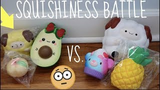 SQUISHINESS BATTLE!!! + Giveaway Winners (Collab w/ Christine)