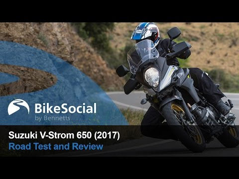 Suzuki V-Strom 650 (2017) - Ride and review