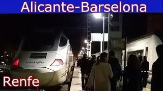 На поезде из Аликанте в Барселону, репортаж о дороге spaintur.tv Сергей Езовский