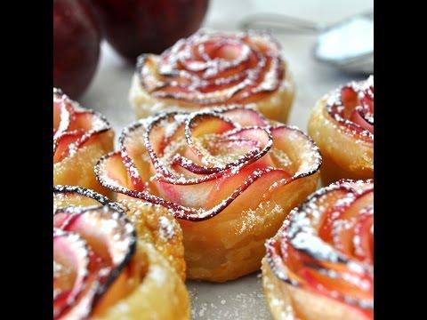 Πως να φτιάξετε γλυκό από μήλα σε σχήμα τριαντάφυλλο
