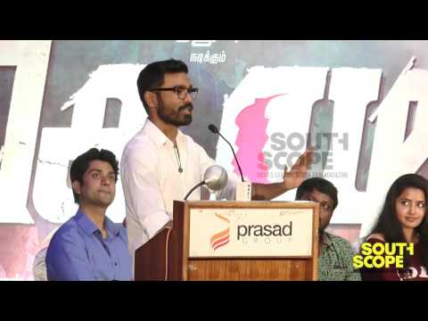 Dhanush talks about keeping his promise to Kodi director Durai Senthil