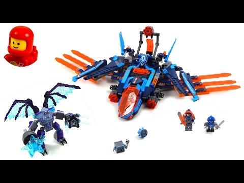 Vidéo LEGO Nexo Knights 70351 : Le faucon de combat de Clay