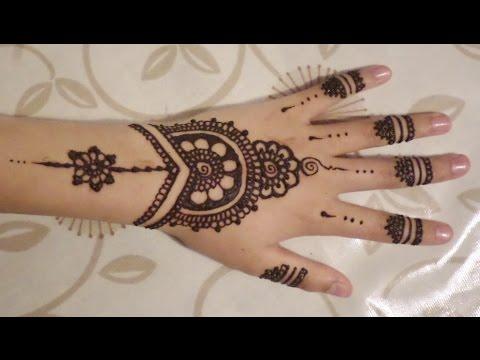 Simple Cute Henna Design Tobehd