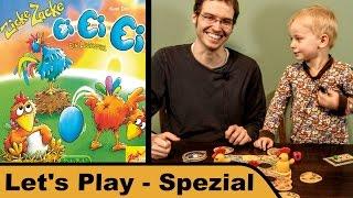 Zicke Zacke Ei Ei Ei - Spiel - Kinderspiel - Let's Play Spezial mit Sohn
