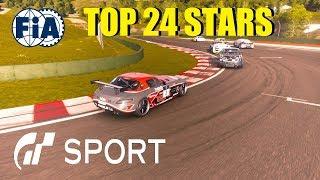 GT Sport Top 24 FIA Manufacturer Round 6 - Traffic Issues