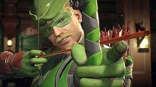 Injustice 2 Green Arrow Gameplay (PS4/Xbox One)