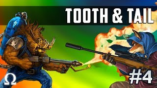 RANDOM ARMIES, HOLY MOLE-Y RUSH! | Tooth & Tail #4 Gameplay Ft. Sattelizer