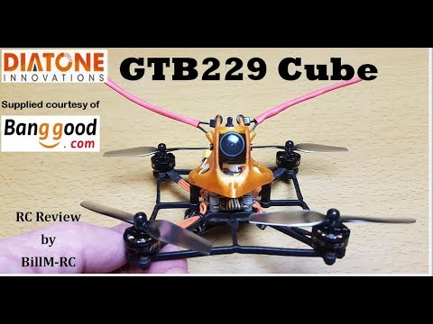 Diatone GTB229 Cube review, setup, settings & test flights