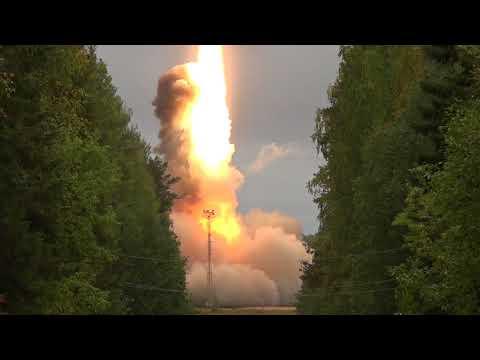 Il lancio di prova del missile intercontinentale russo Yars (Video)