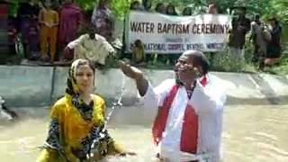 Water Baptism Ceremony. (igmmpk)