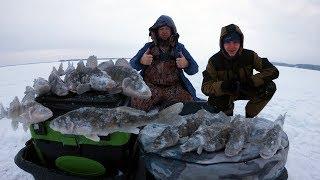 Рыбалка волга зимою